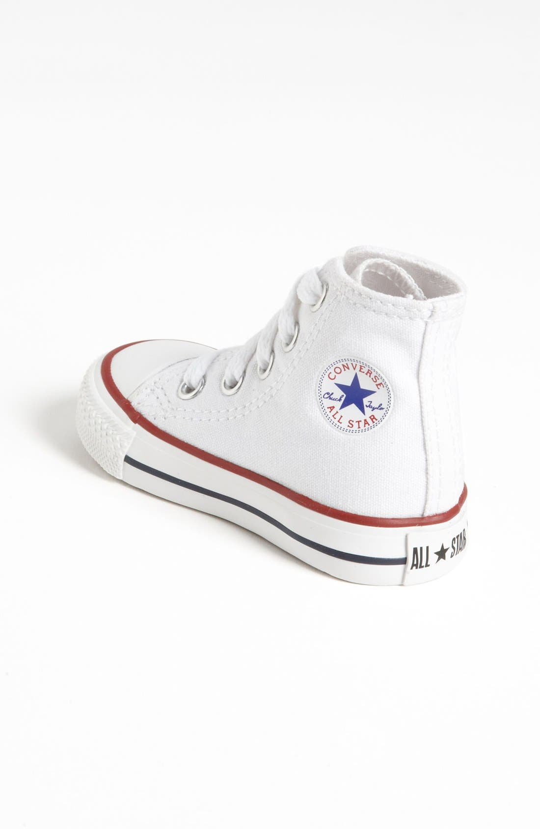 Alternate Image 2  - Converse All Star® High Top Sneaker (Baby, Walker & Toddler)