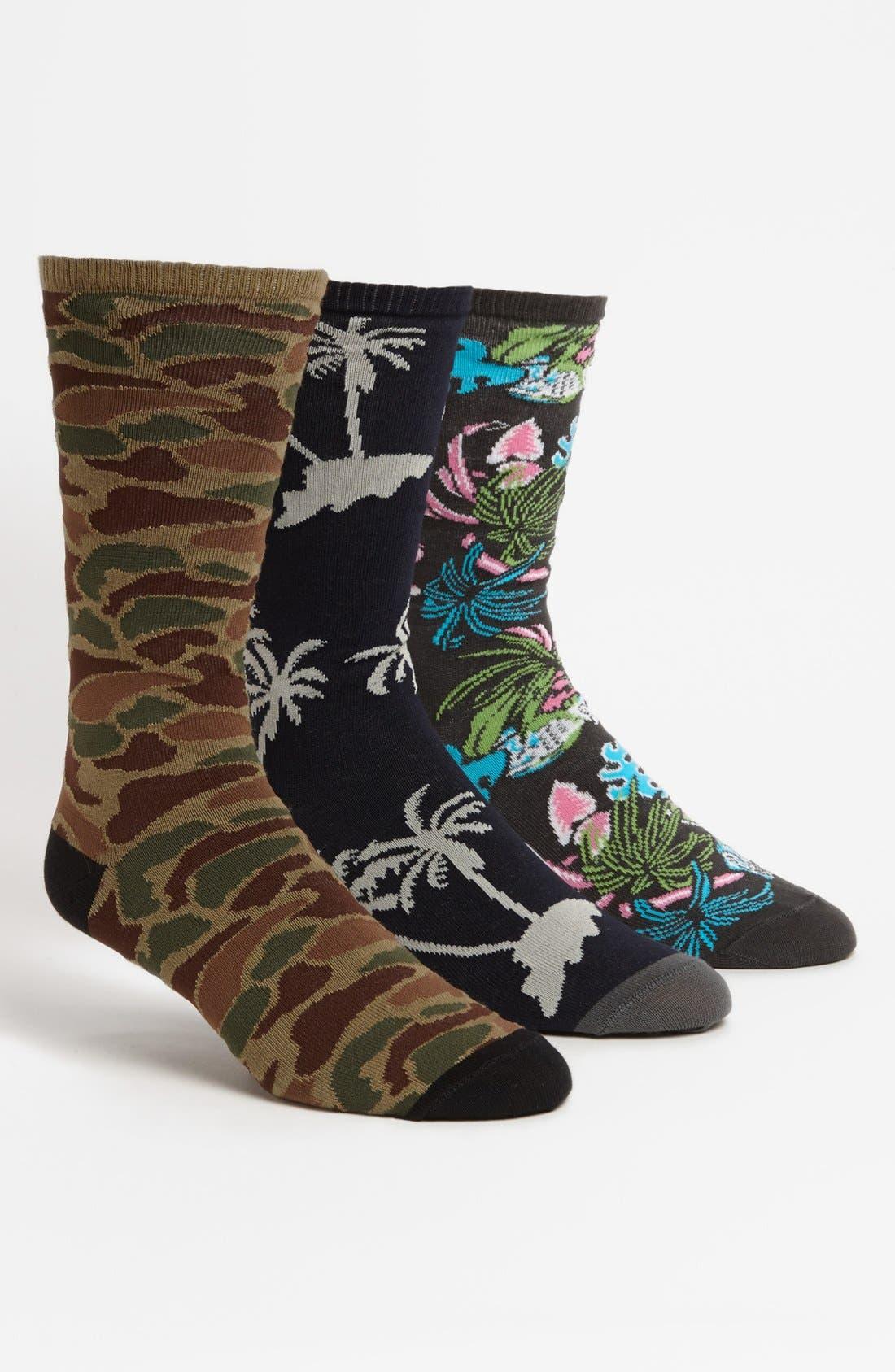 Main Image - Vans 'Willits' Socks (Assorted 3-Pack)