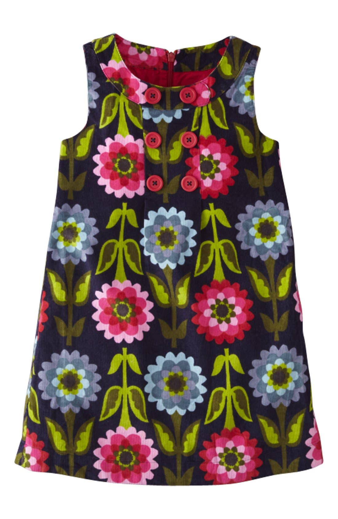 Main Image - Mini Boden Corduroy Pinafore Dress (Toddler Girls, Little Girls & Big Girls)