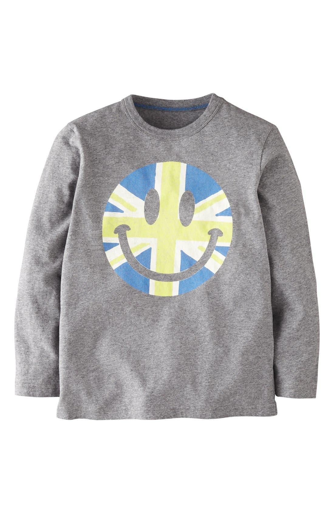 Main Image - Mini Boden Screenprint T-Shirt (Toddler Boys)