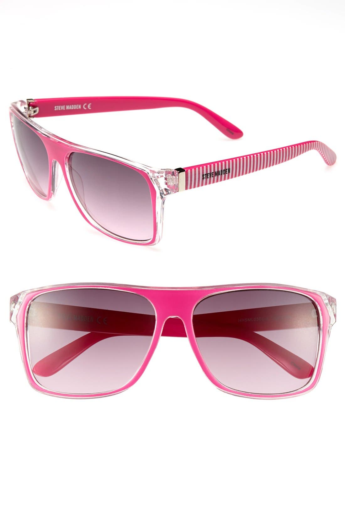 Main Image - Steve Madden 60mm Retro Sunglasses