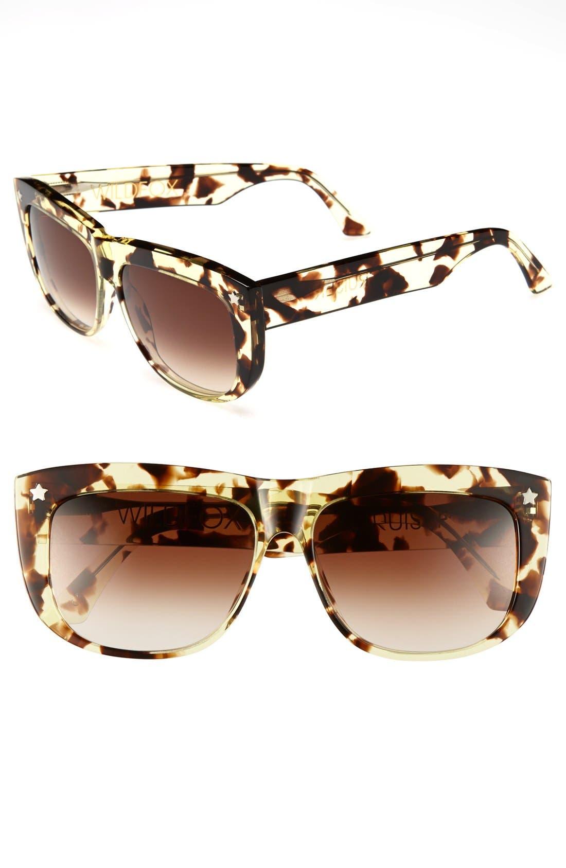 Main Image - Wildfox 'Cruiser' 57mm Sunglasses