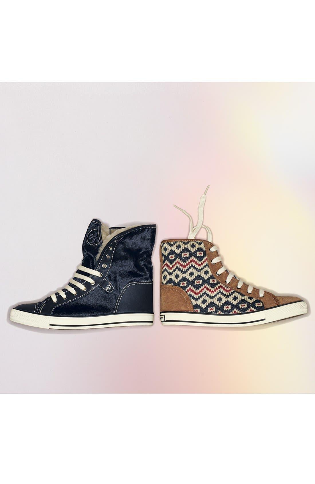 Alternate Image 5  - Tory Burch 'Benjamin' High Top Sneaker