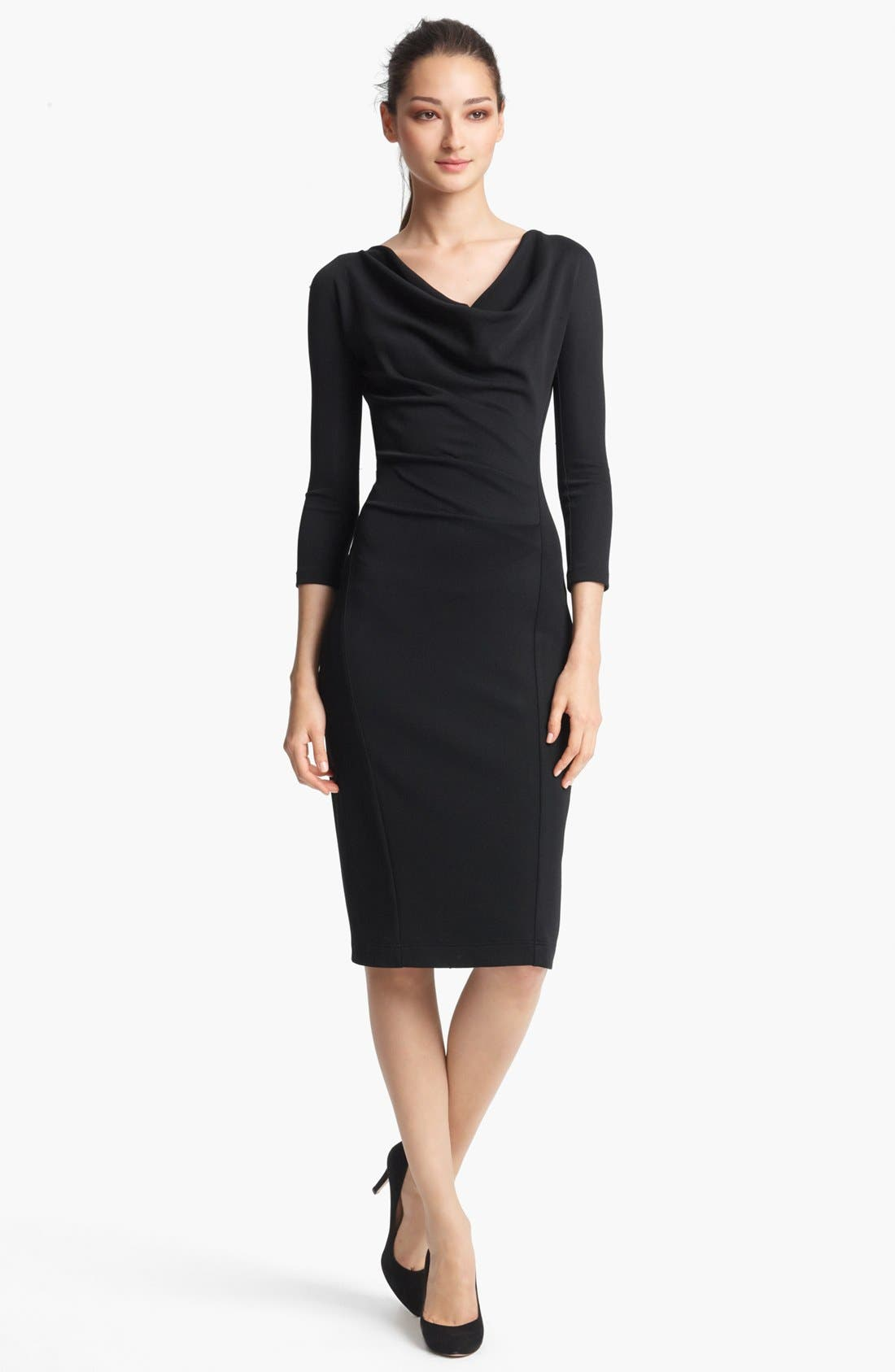 Alternate Image 1 Selected - Donna Karan Collection Crepe Jersey Dress