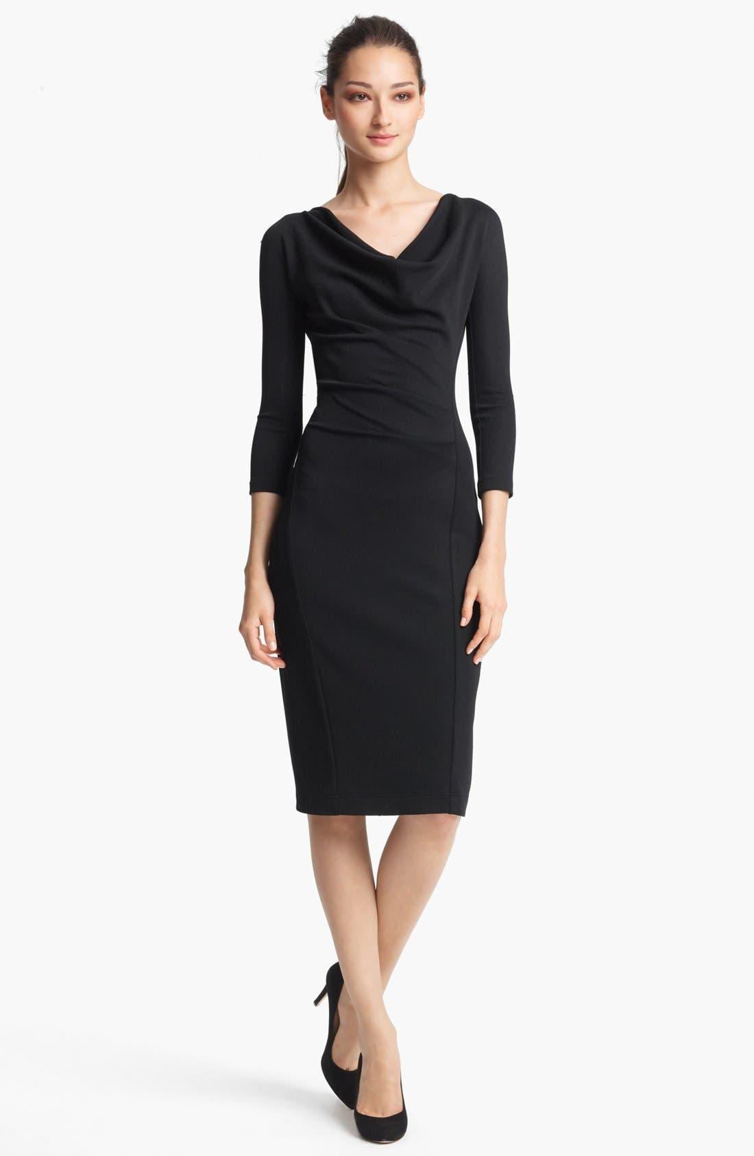 Main Image - Donna Karan Collection Crepe Jersey Dress
