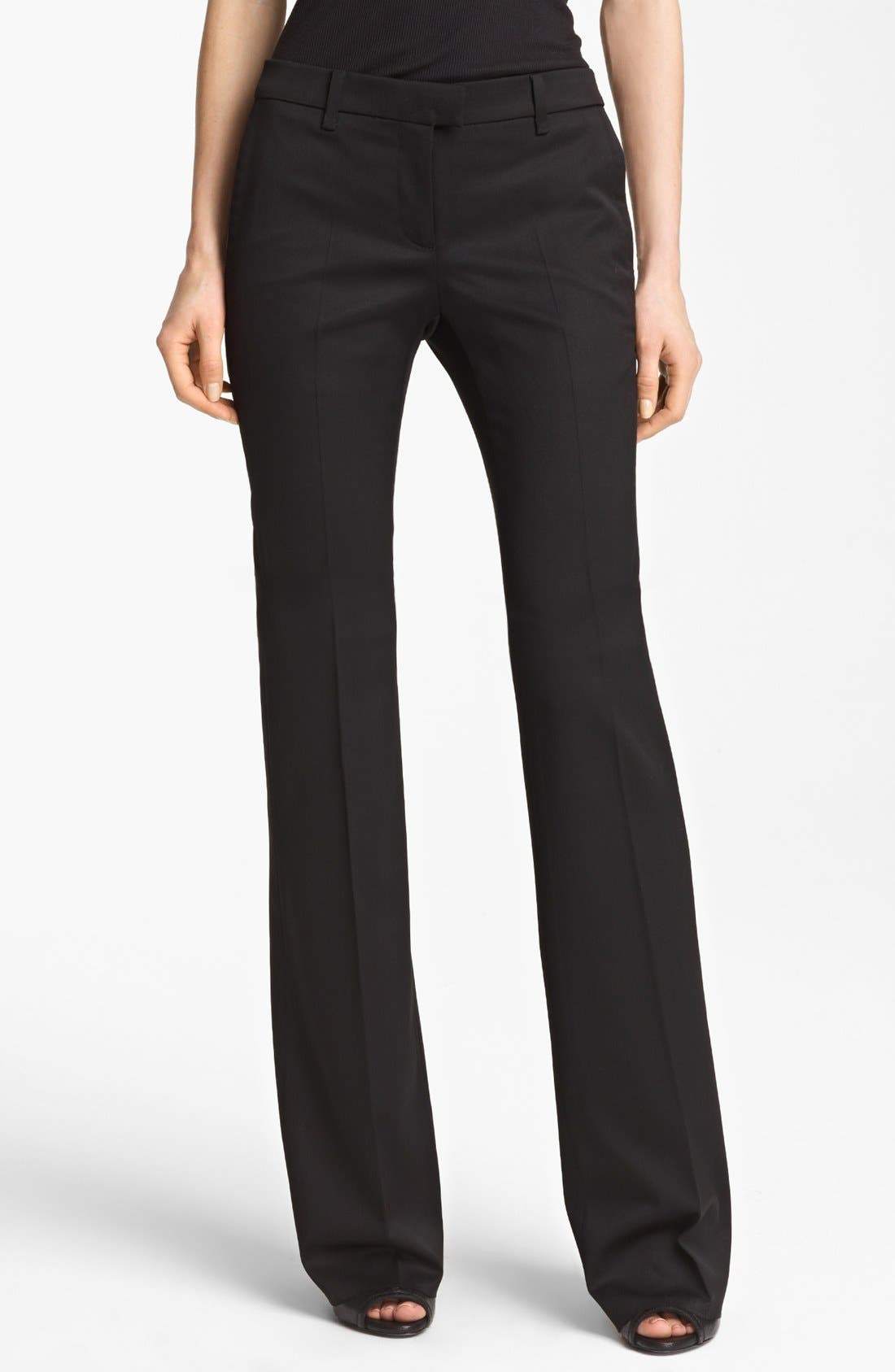 Alternate Image 1 Selected - Burberry Prorsum Tailored Stretch Wool Pants
