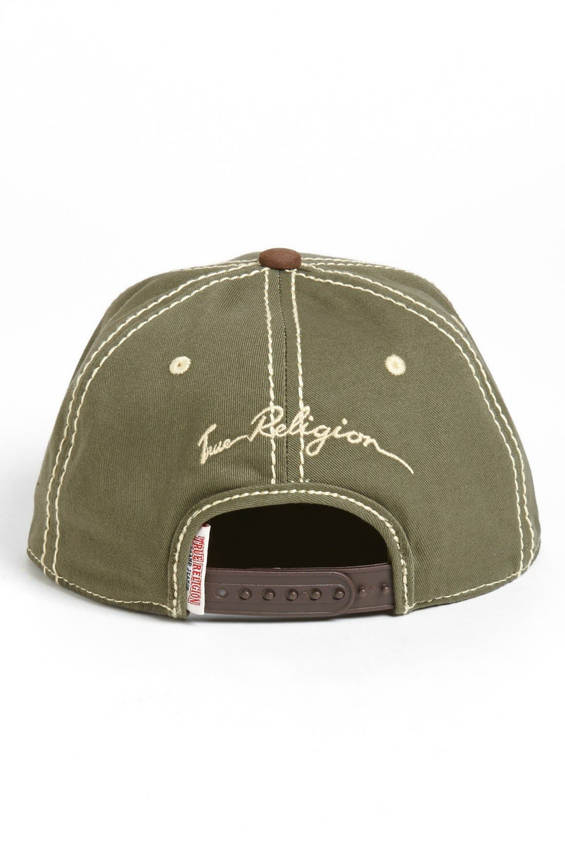 Alternate Image 2  - True Religion Brand Jeans 'Buddha' Baseball Cap