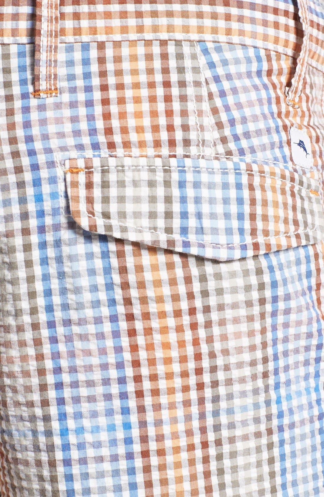 Alternate Image 3  - Tommy Bahama Denim 'Reef Ridge' Seersucker Shorts