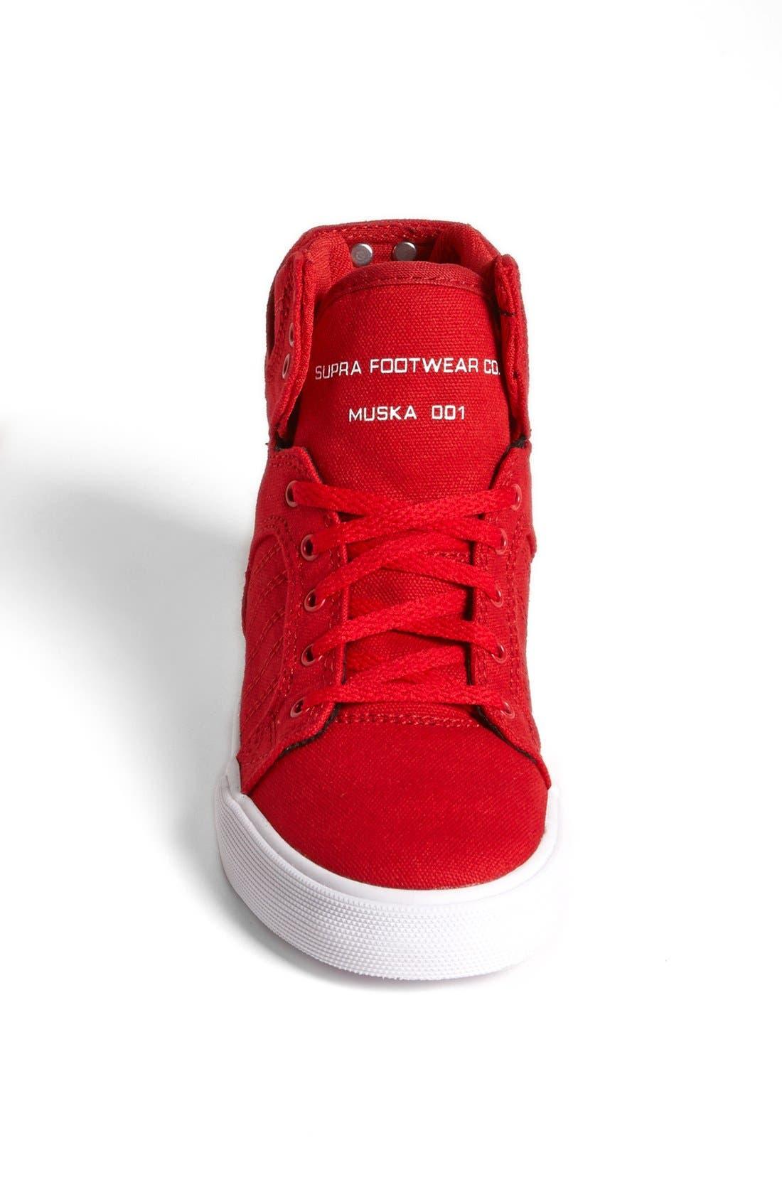 Alternate Image 3  - Supra 'Skytop' Sneaker (Toddler, Little Kid & Big Kid)
