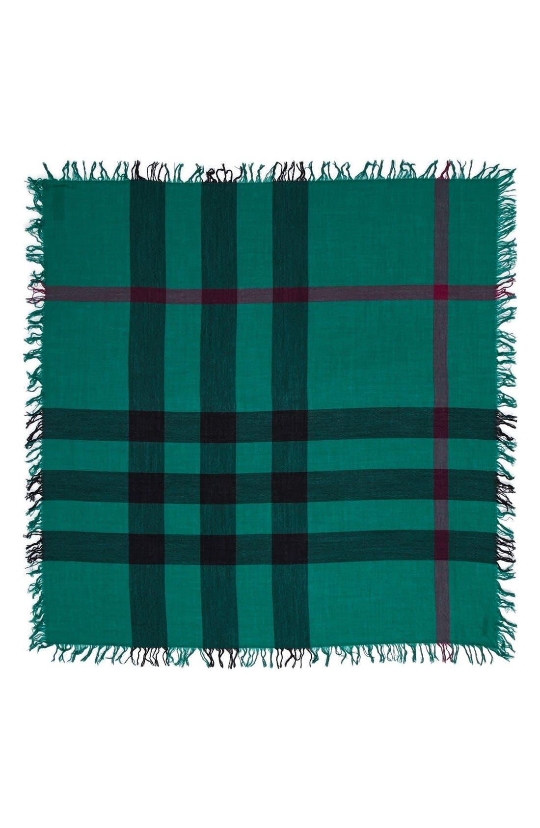 Alternate Image 2  - Burberry 'Colour Check' Square Scarf