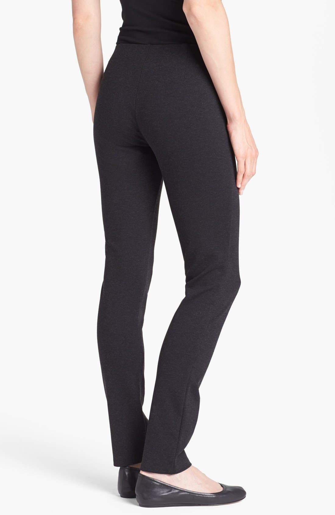 Alternate Image 2  - Eileen Fisher Skinny Knit Pants