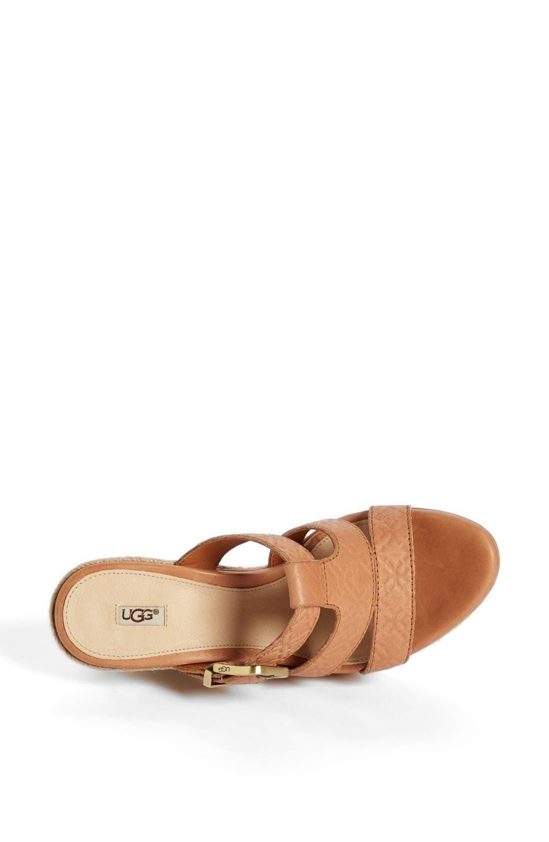 Alternate Image 3  - UGG® Australia 'Hedy' Sandal (Women)