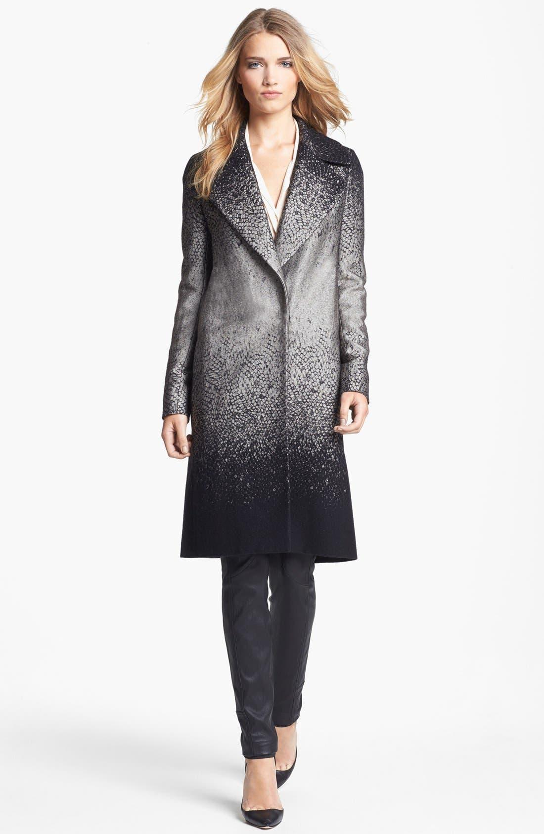 Alternate Image 2  - Diane von Furstenberg 'Nala' Woven Coat