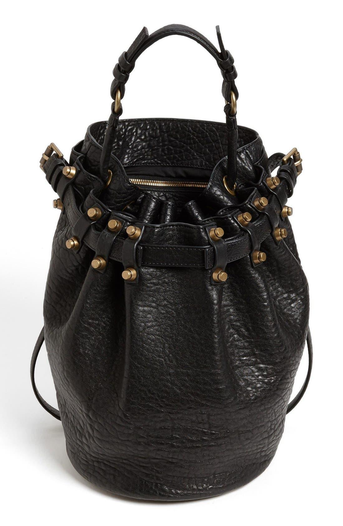 Alternate Image 1 Selected - Alexander Wang 'Diego' Leather Bucket Bag