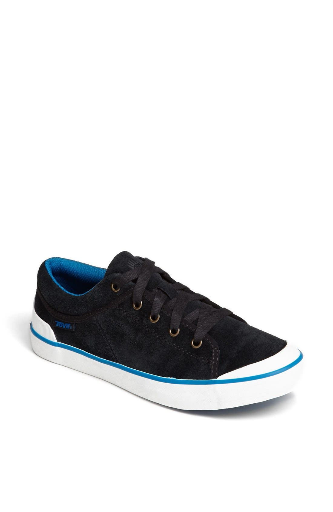 'Freewheel' Sneaker,                             Main thumbnail 1, color,                             Black/ Blue