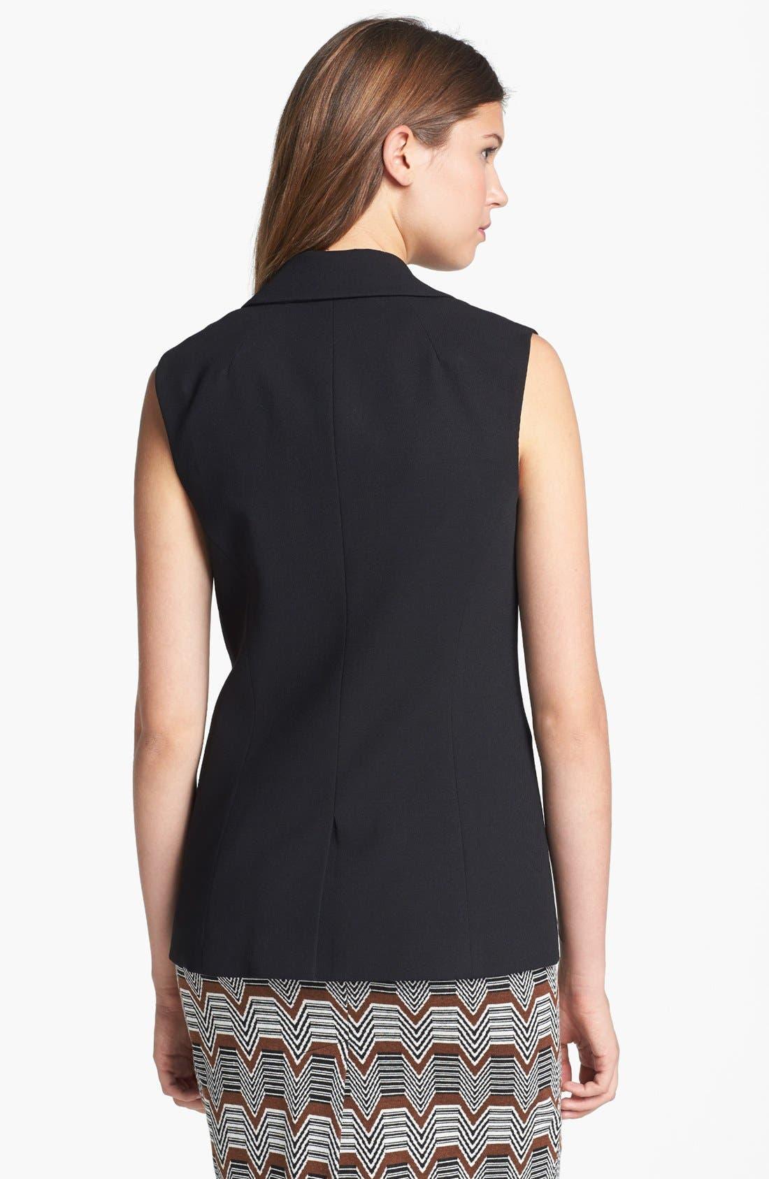 Alternate Image 2  - Trina Turk 'Desia' Sleeveless Jacket