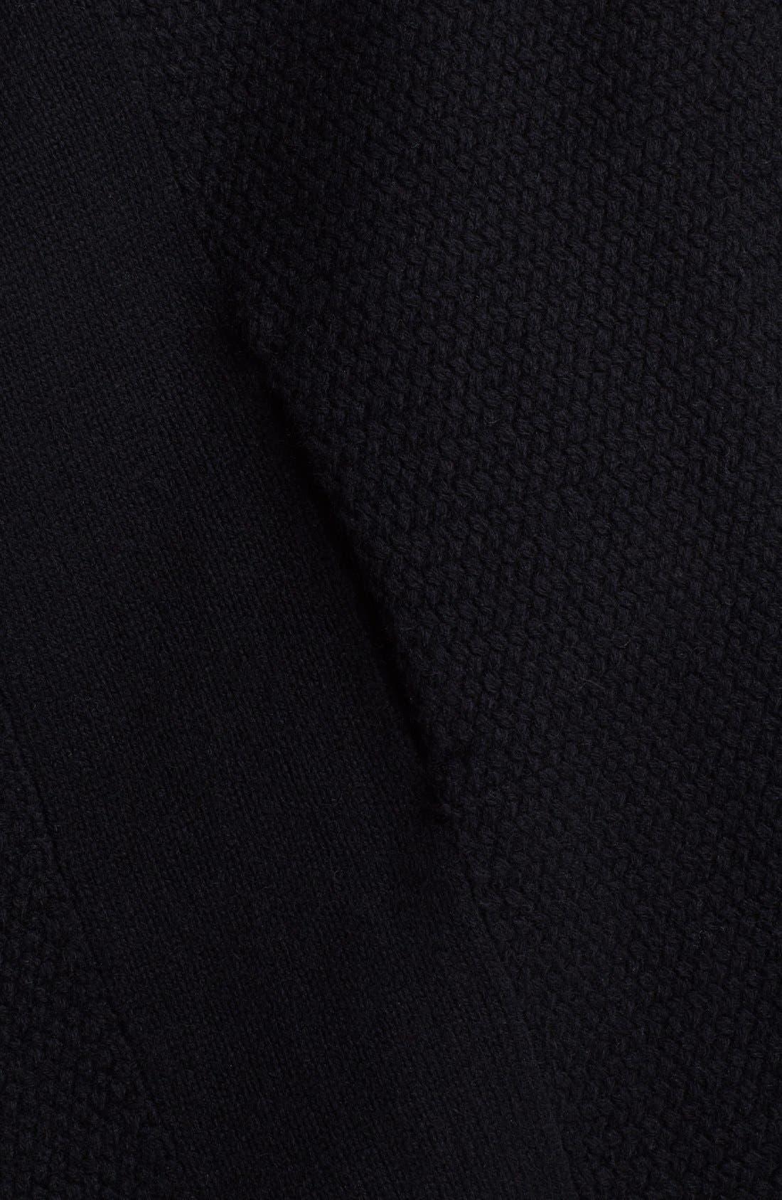 Alternate Image 3  - Vince Textured Drape Cardigan