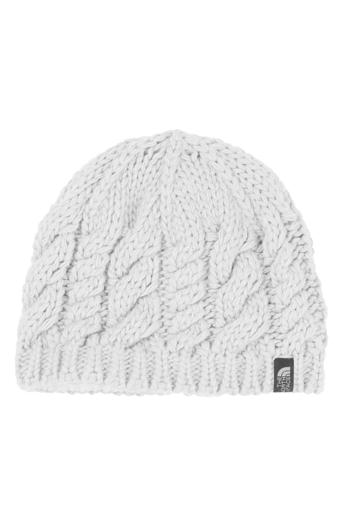 Alternate Image 1 Selected - The North Face 'Cable Fish' Beanie (Girls)