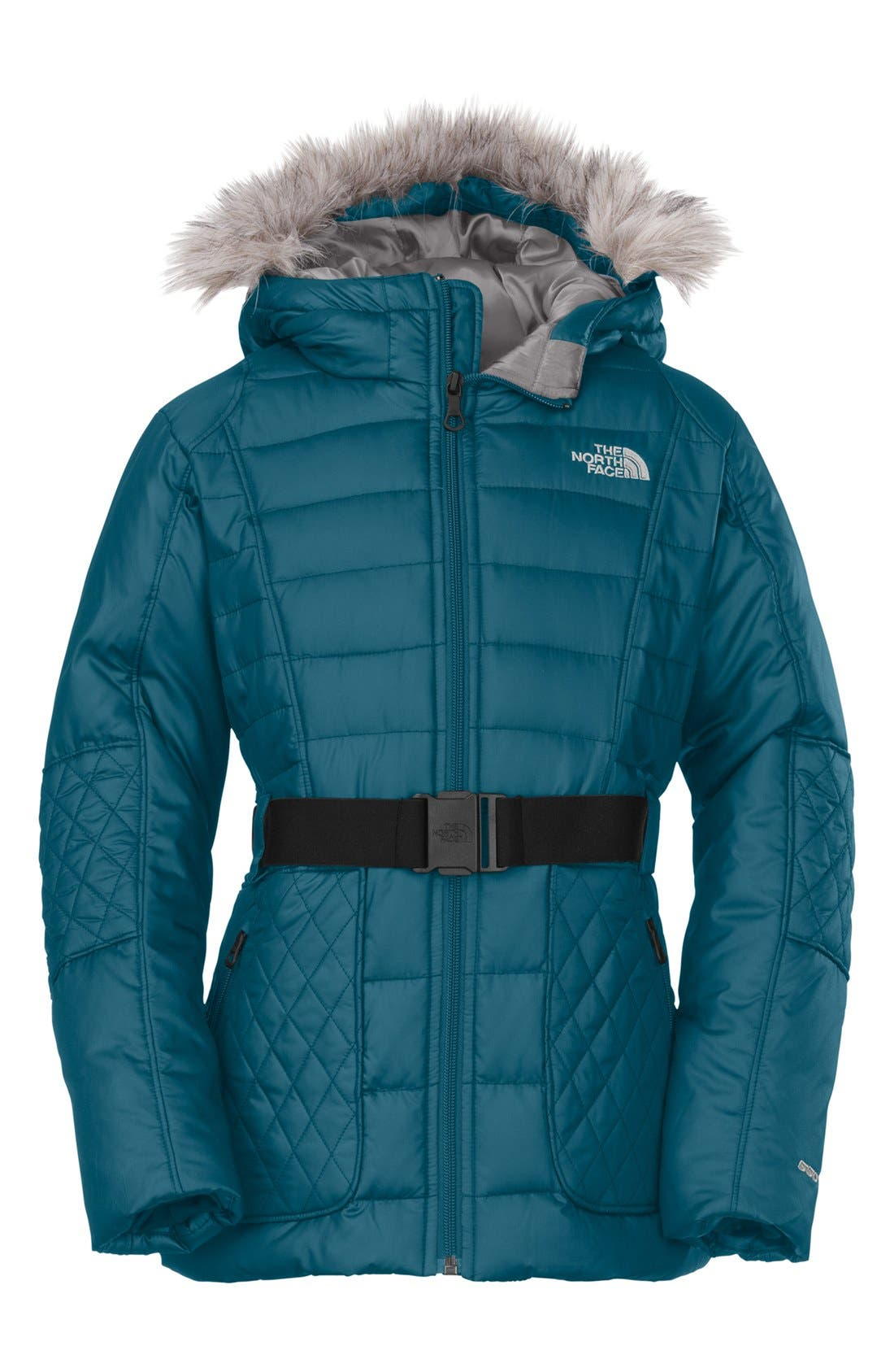Alternate Image 1 Selected - The North Face 'Parkina' Down Jacket (Little Girls & Big Girls)