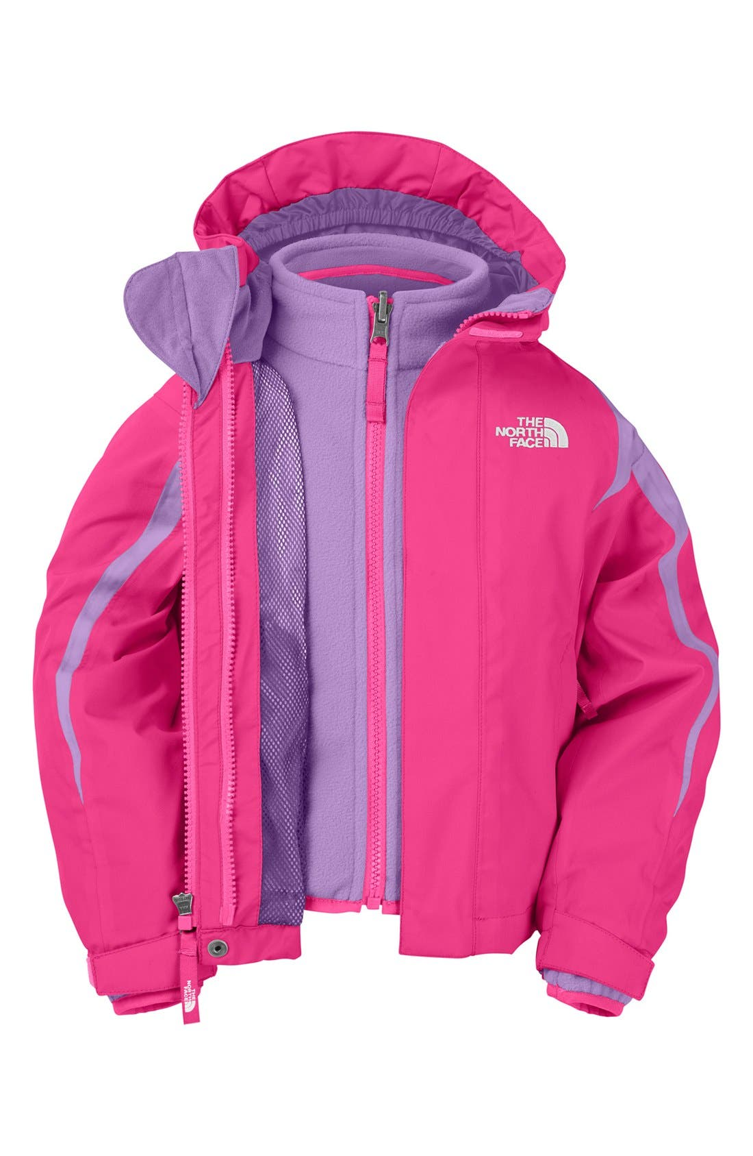Main Image - The North Face 'Mountain View TriClimate®' 3-in-1 Jacket (Toddler Girls)