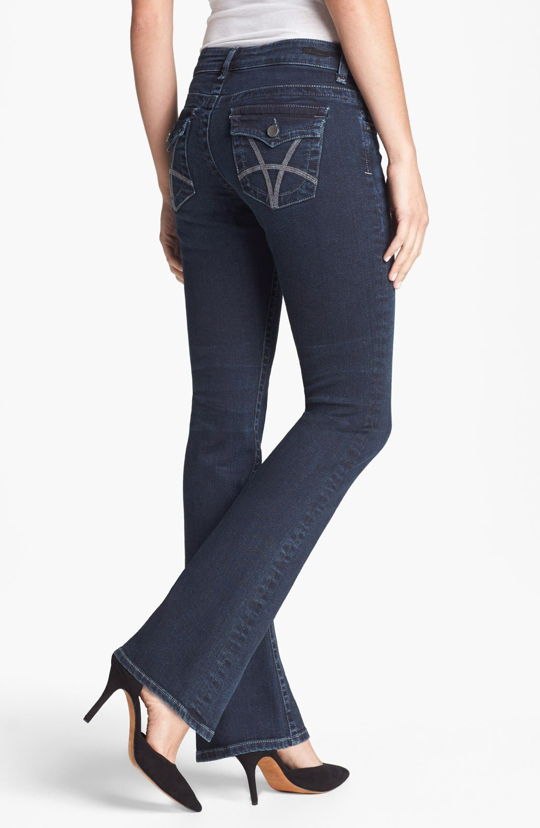 Alternate Image 2  - KUT from the Kloth 'Natalie' Bootcut Jeans (Conquer)
