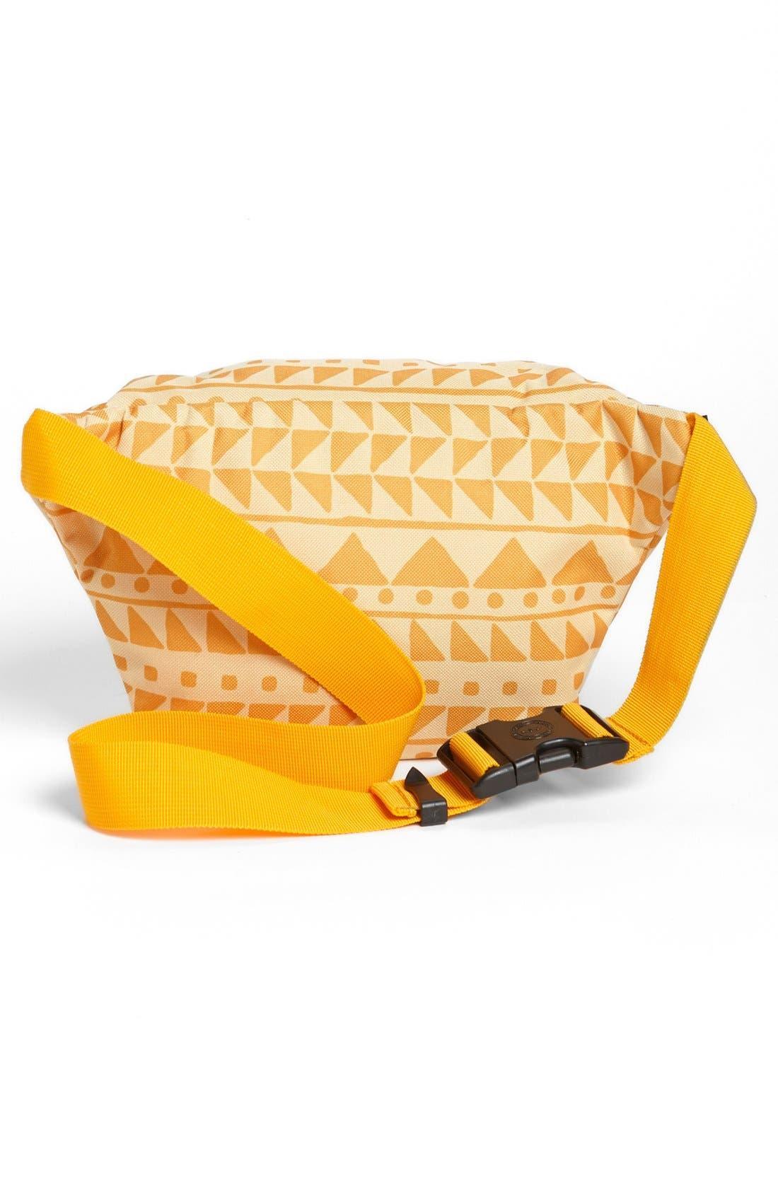 'Seventeen' Belt Bag,                             Alternate thumbnail 4, color,                             Chevron Butterscotch