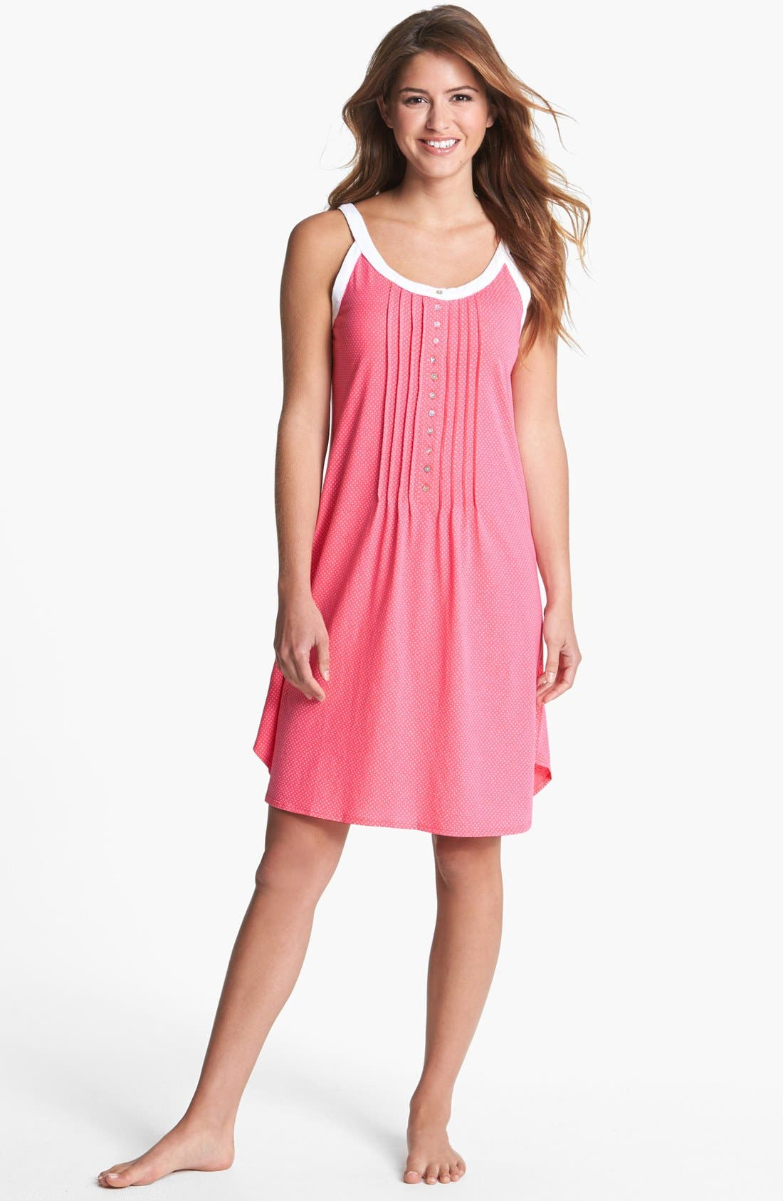 Alternate Image 1 Selected - Eileen West 'Beach Party' Short Nightgown