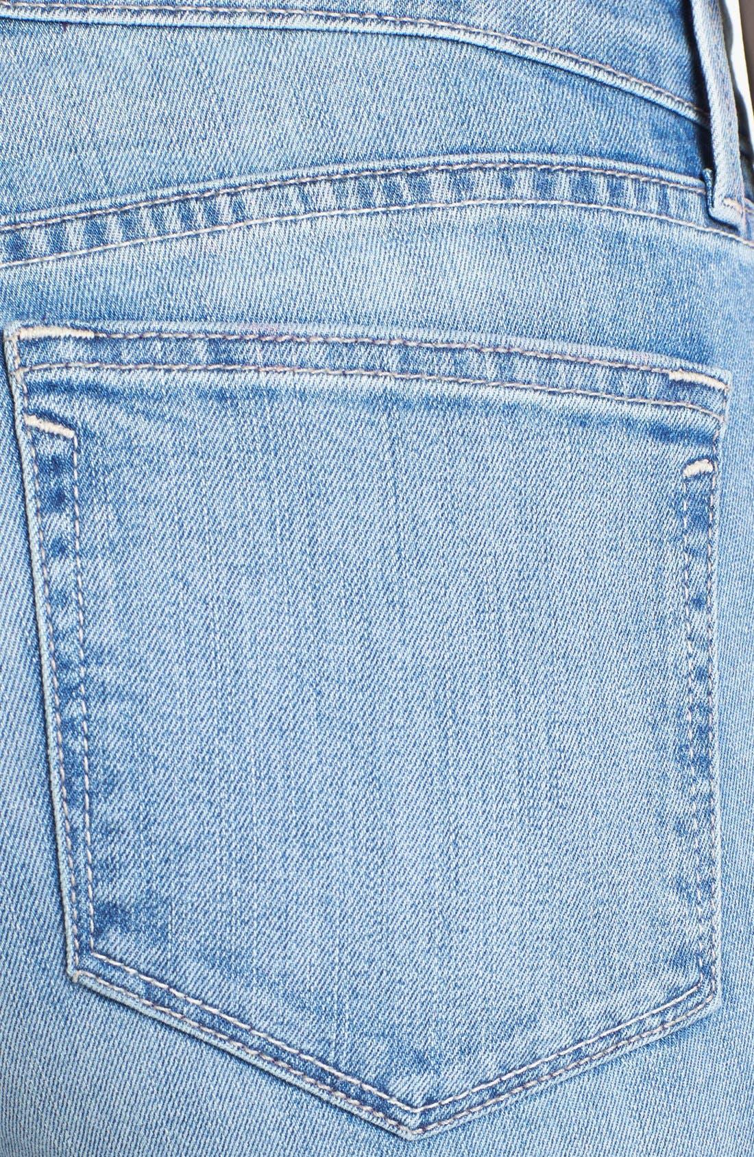 Alternate Image 4  - NYDJ 'Alina' Stretch Skinny Jeans (Sacramento) (Petite)