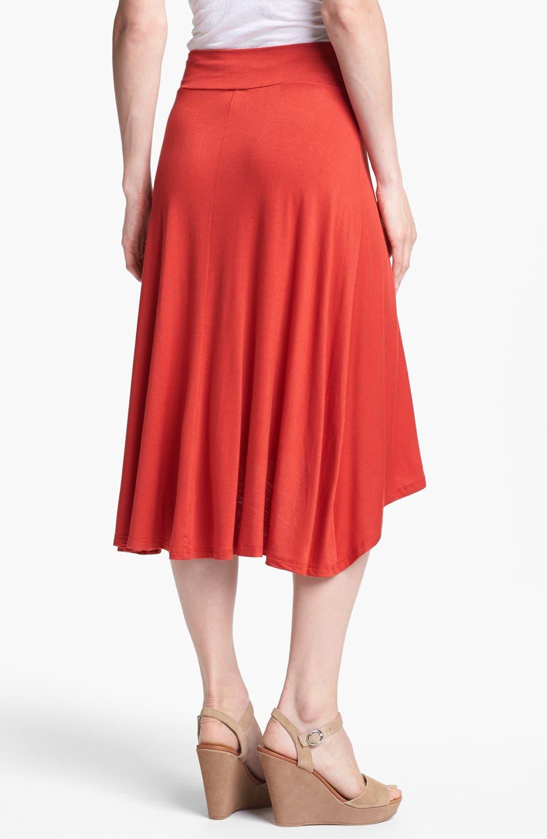 Alternate Image 2  - MOD.lusive High/Low Skirt