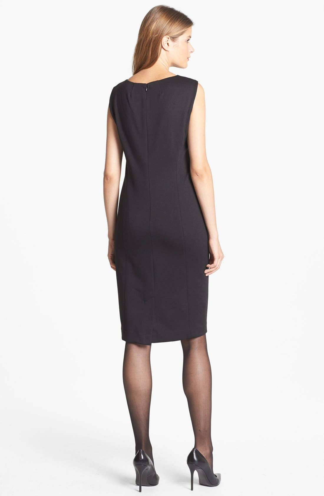 Alternate Image 2  - Jones New York 'Mallory' Ponte Sheath Dress