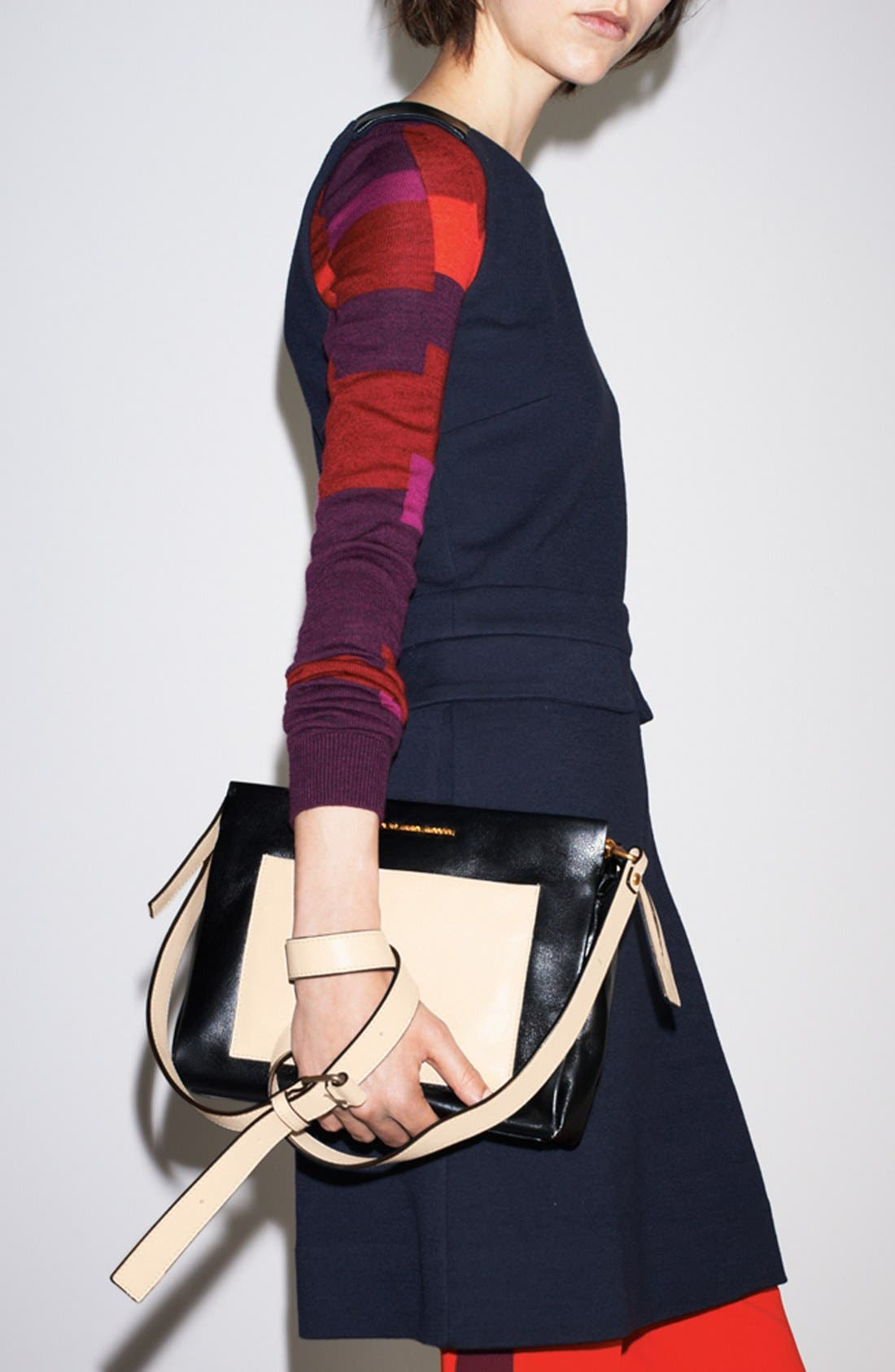 Alternate Image 5  - MARC BY MARC JACOBS 'Fold Them' Leather Crossbody Bag