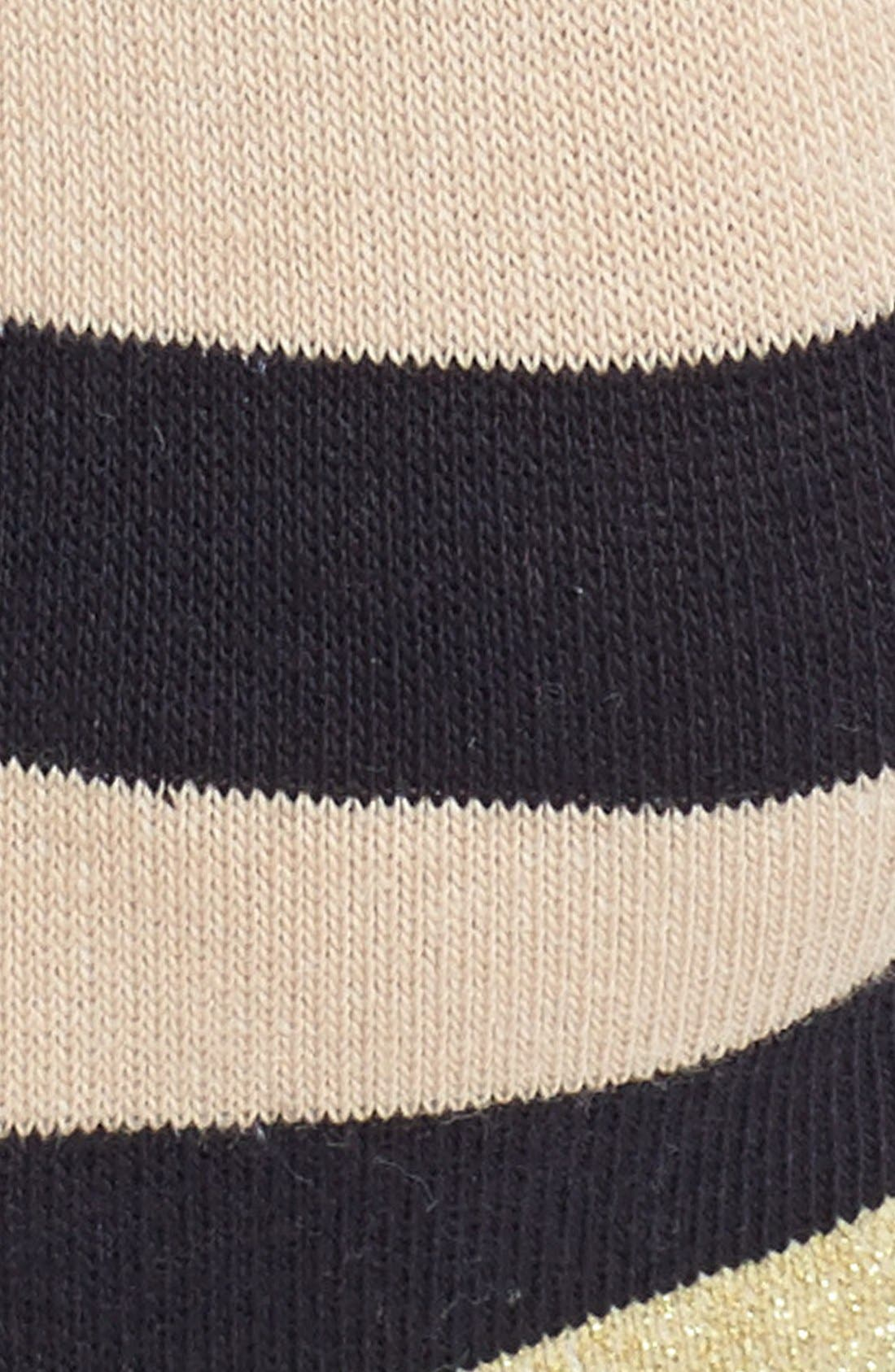 Alternate Image 2  - kate spade new york 'sweet stripe' sock liners