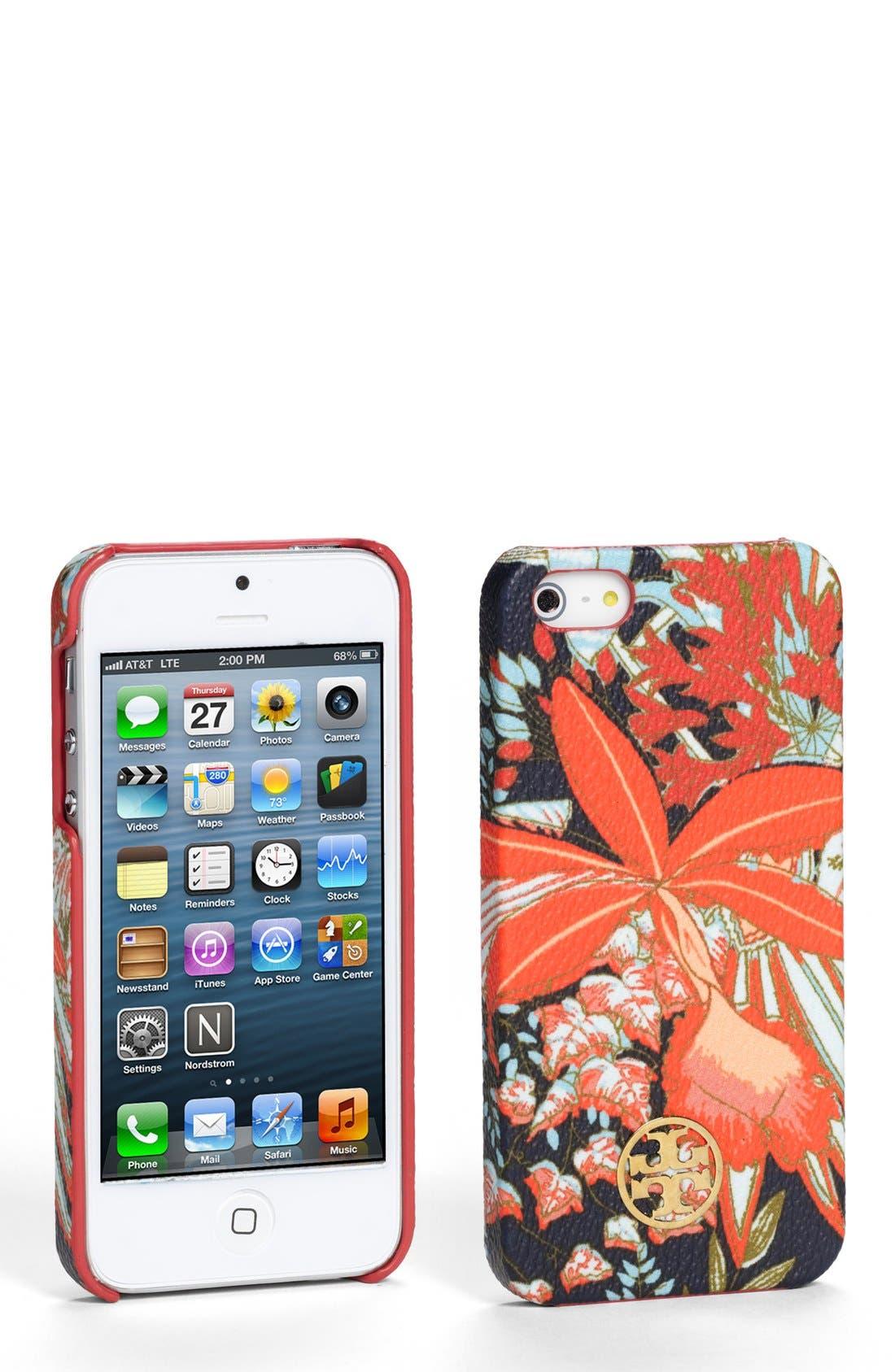 Main Image - Tory Burch 'Kerrington' Hard Shell iPhone 5 & 5s case