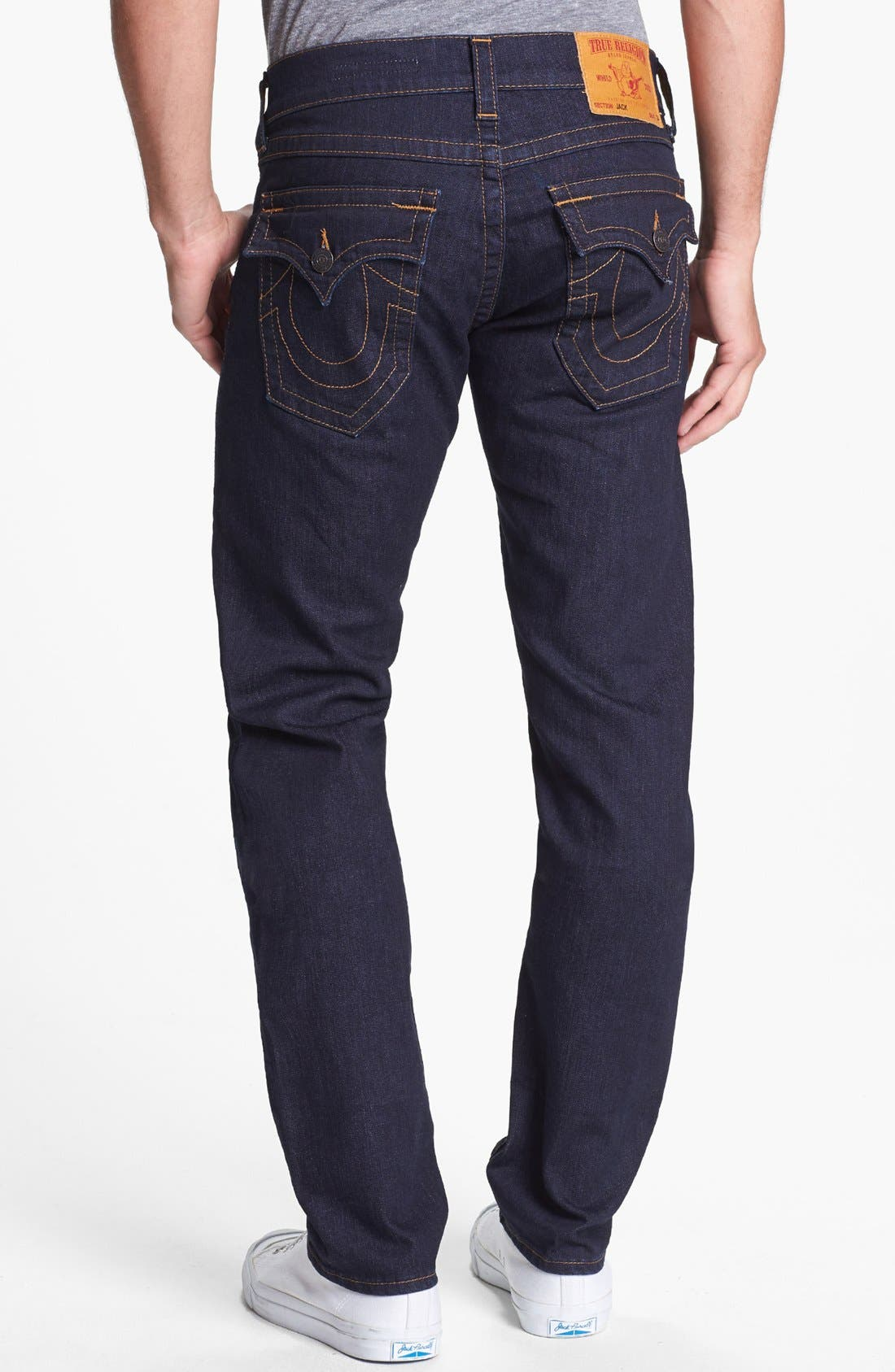 Alternate Image 1 Selected - True Religion Brand Jeans 'Jack' Slim Fit Jeans (Midnight Blue)