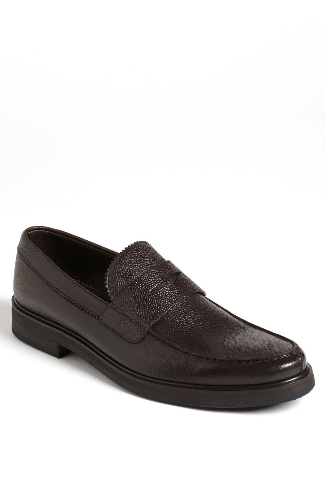 Main Image - Canali Penny Loafer (Men)