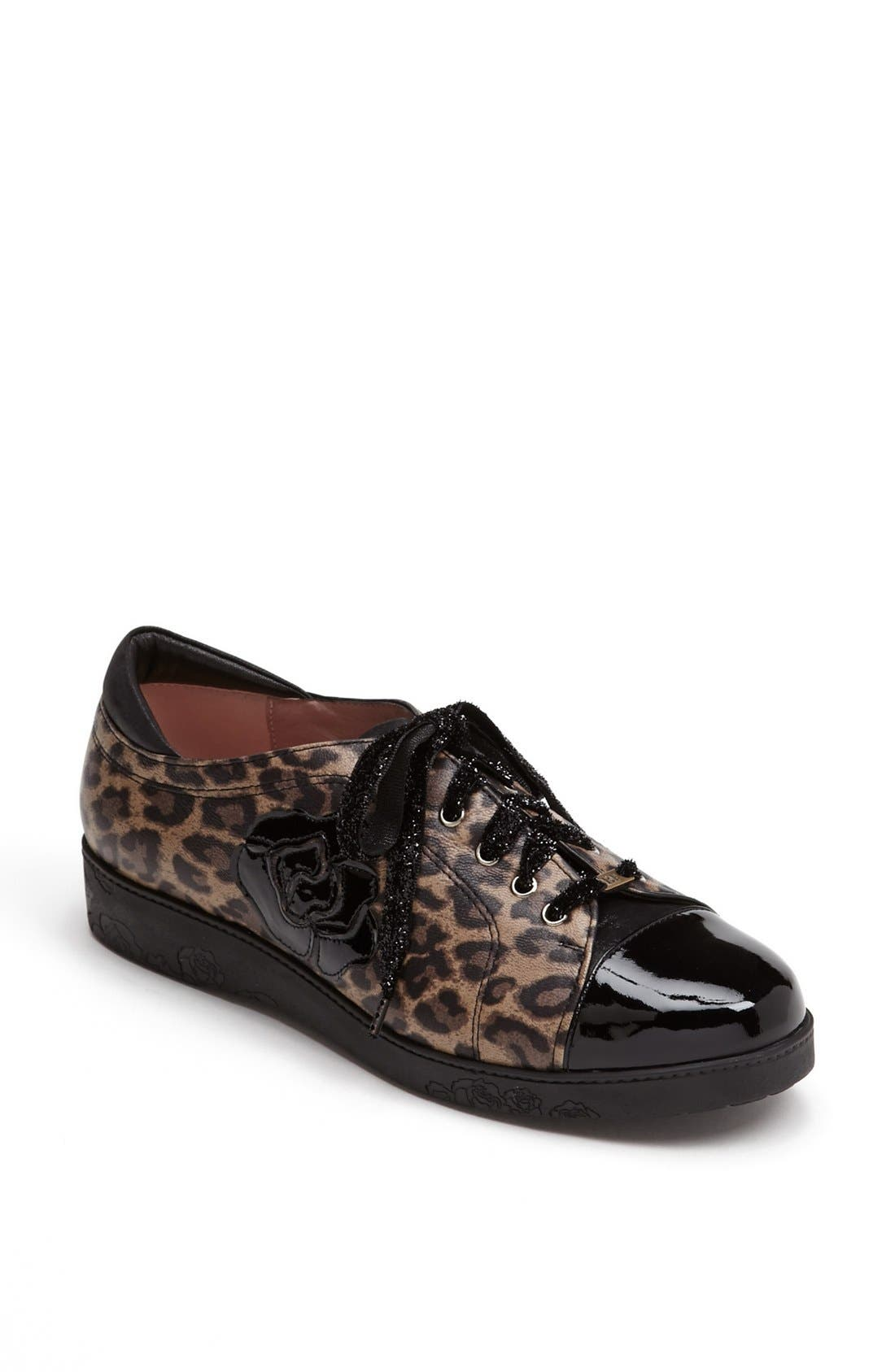 'Aria' Sneaker,                         Main,                         color, Leopard Print Leather