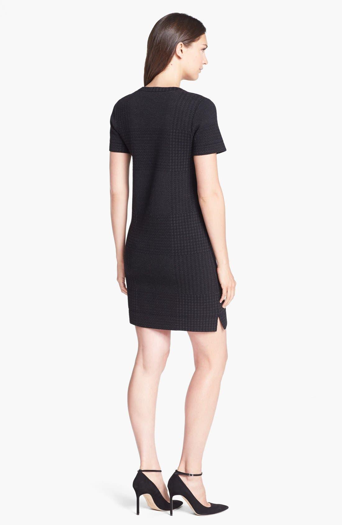 Alternate Image 2  - Theory 'Darmelle' Wool Blend A-Line Dress