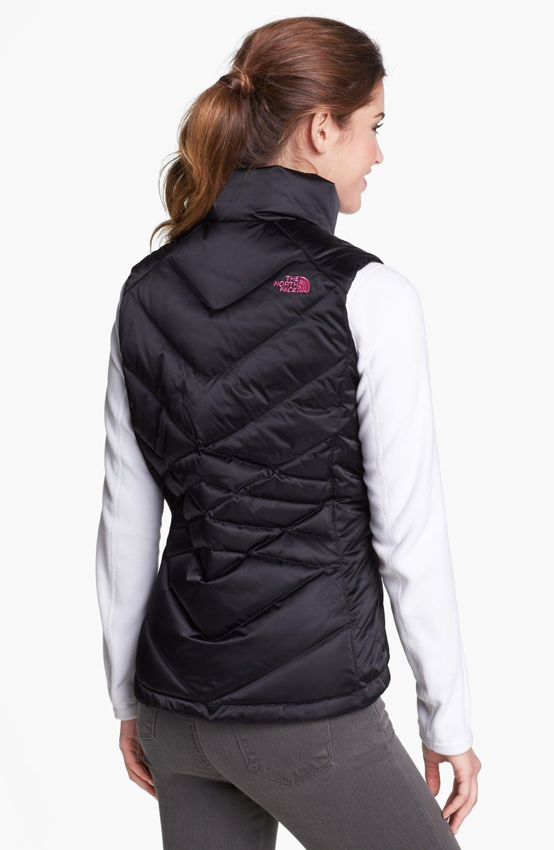 Alternate Image 2  - The North Face 'Aconcagua - Pink Ribbon' Down Vest