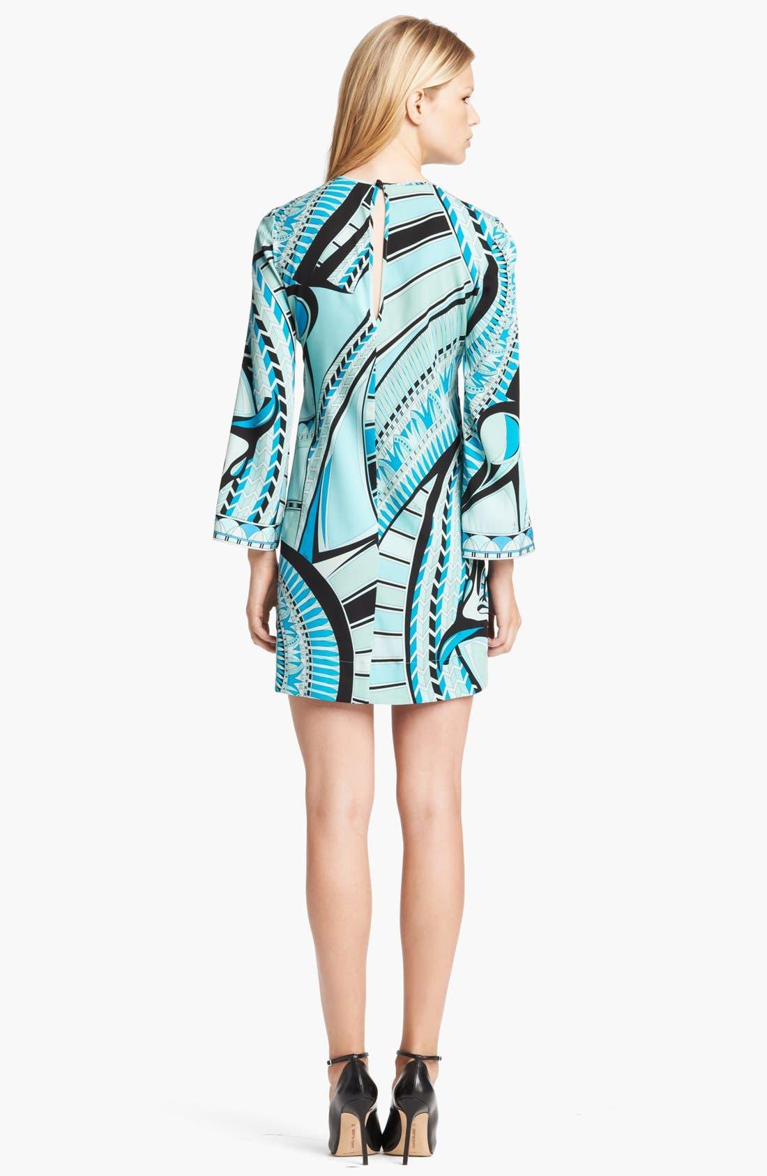 Alternate Image 2  - Emilio Pucci Print Stretch Silk Georgette Dress
