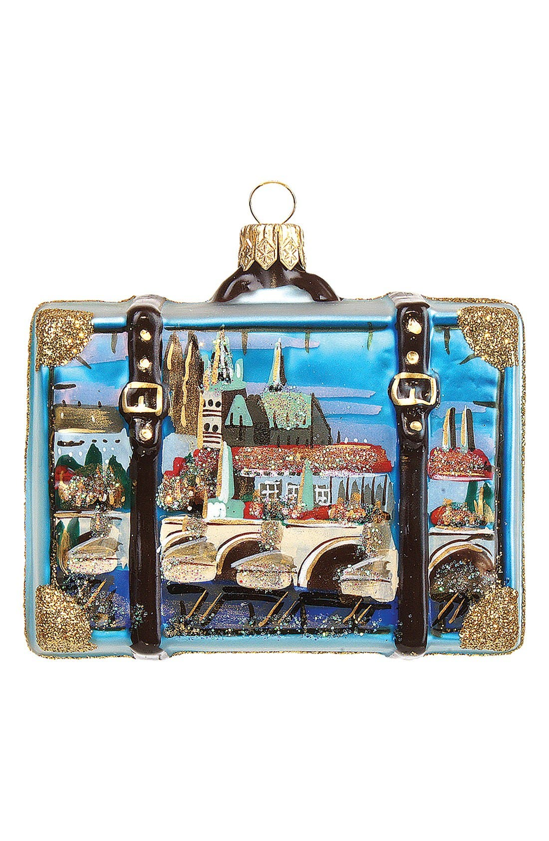 Alternate Image 1 Selected - Nordstrom at Home 'Prague' Suitcase Ornament