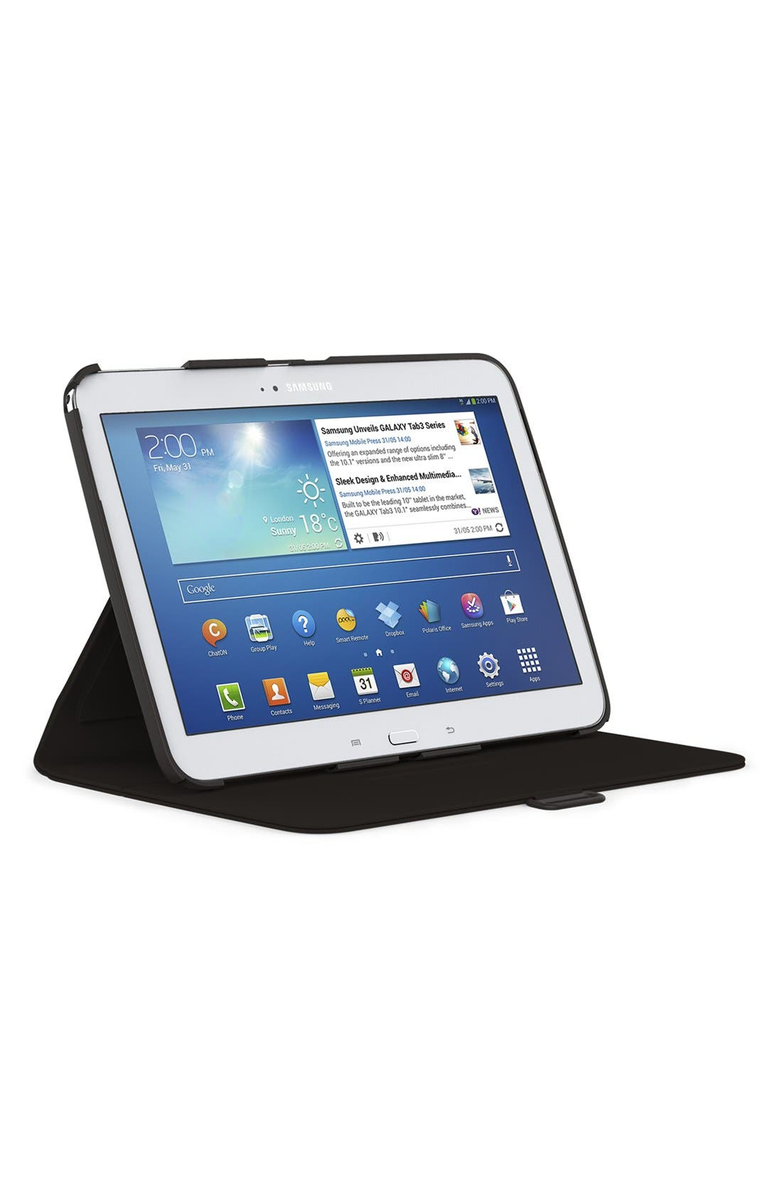 Alternate Image 2  - Speck 'FitFolio' Samsung Galaxy Tab 3 Case