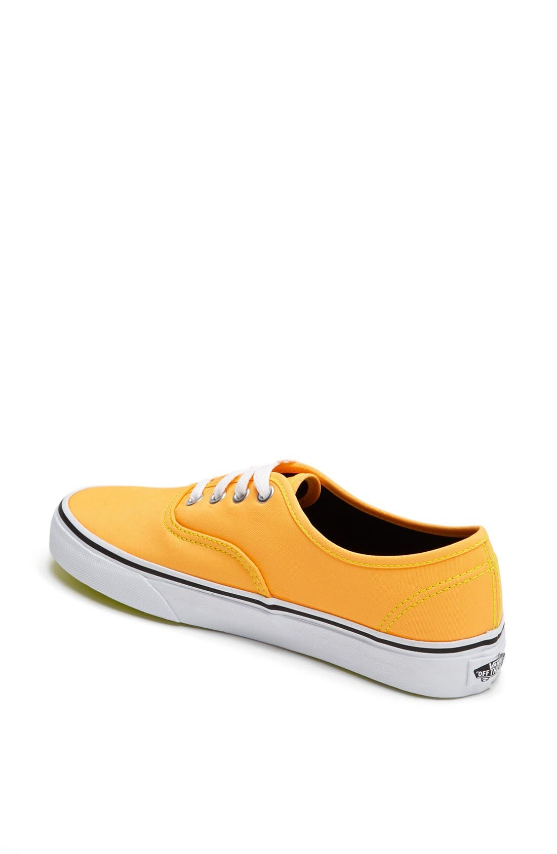 Alternate Image 2  - Vans 'Authentic' Neon Sneaker (Women)