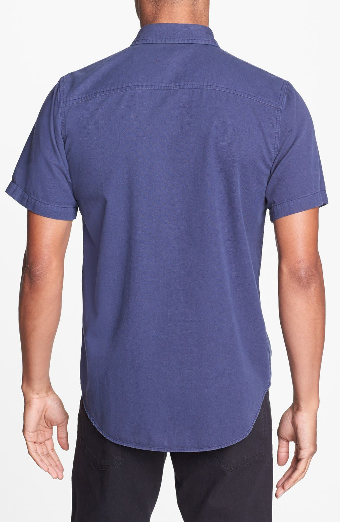 Alternate Image 2  - Topman Tonal Panel Shirt