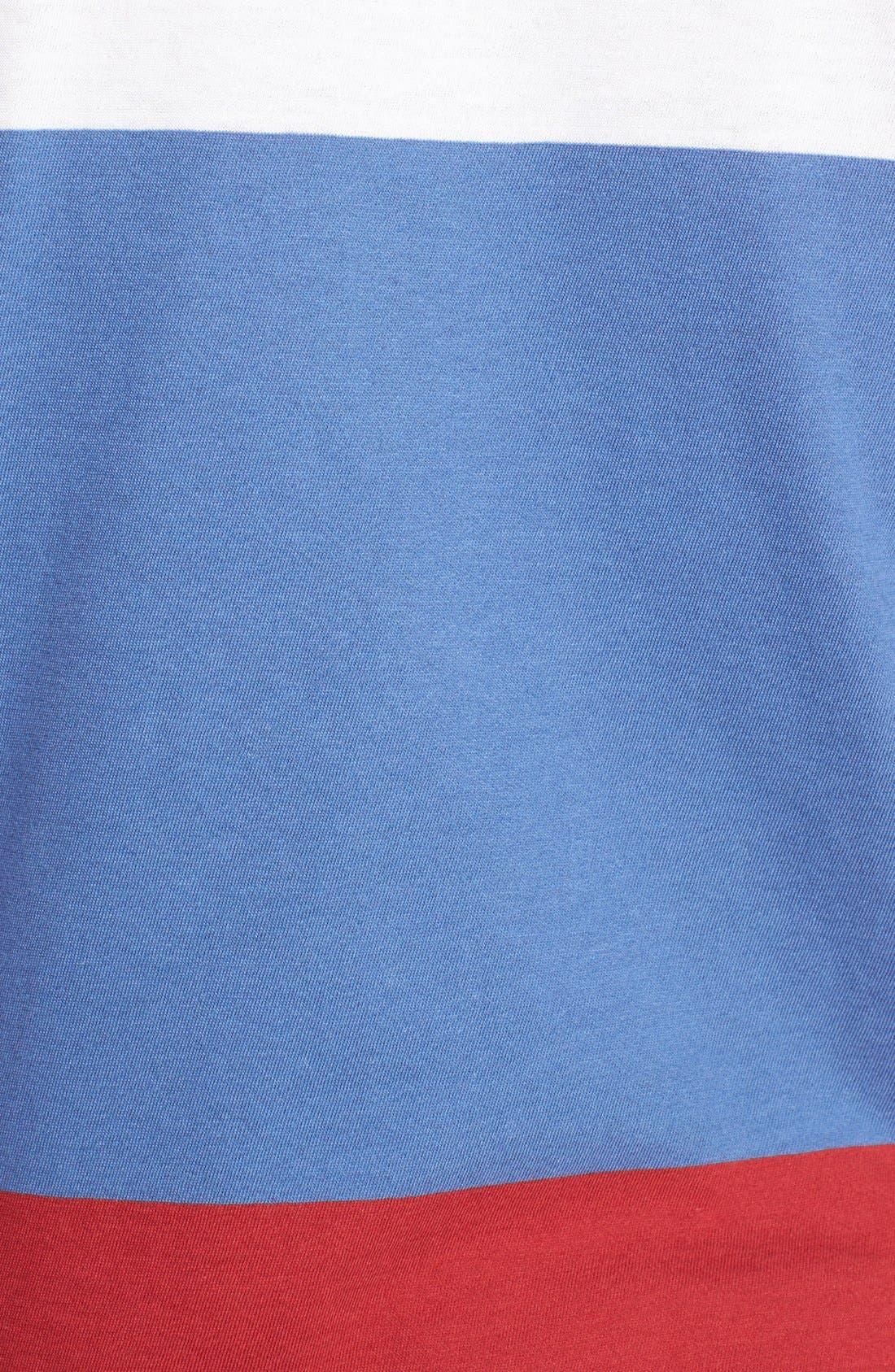 Alternate Image 3  - Topman Block Stripe T-Shirt