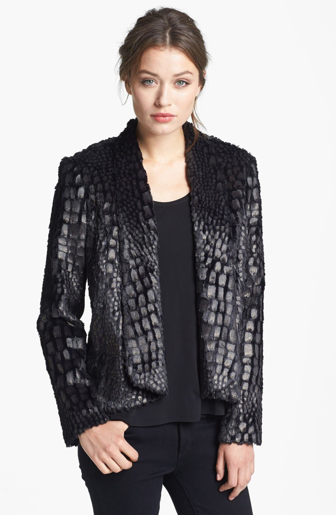Main Image - Alberto Makali Glazed Faux Fur Jacket