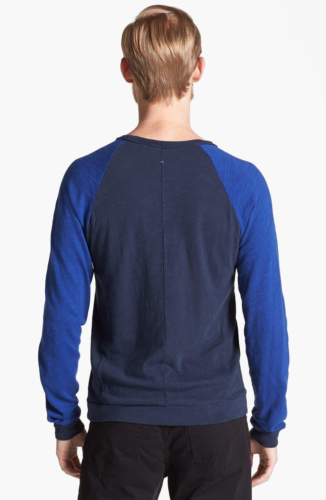 Alternate Image 2  - rag & bone Lightweight Crewneck Sweatshirt
