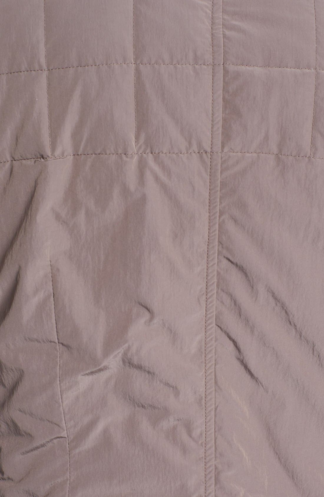Alternate Image 3  - Canali 'Tech' Quilted Italian Coat