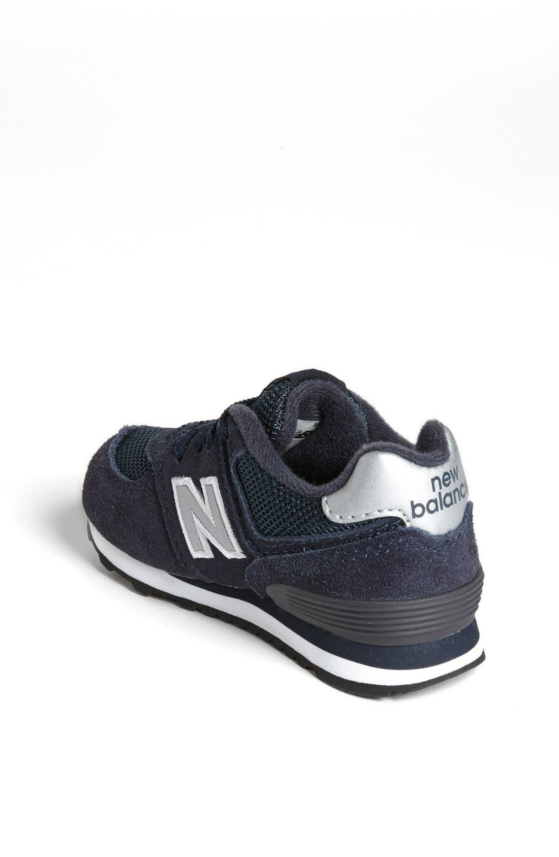 Alternate Image 2  - New Balance '574' Sneaker (Baby, Walker & Toddler)