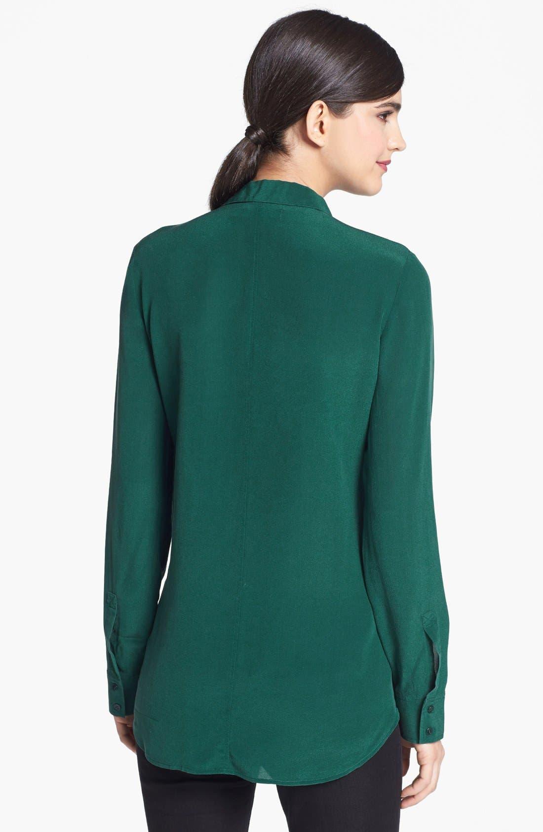 Alternate Image 2  - Trouvé Tonal Panel Silk Shirt