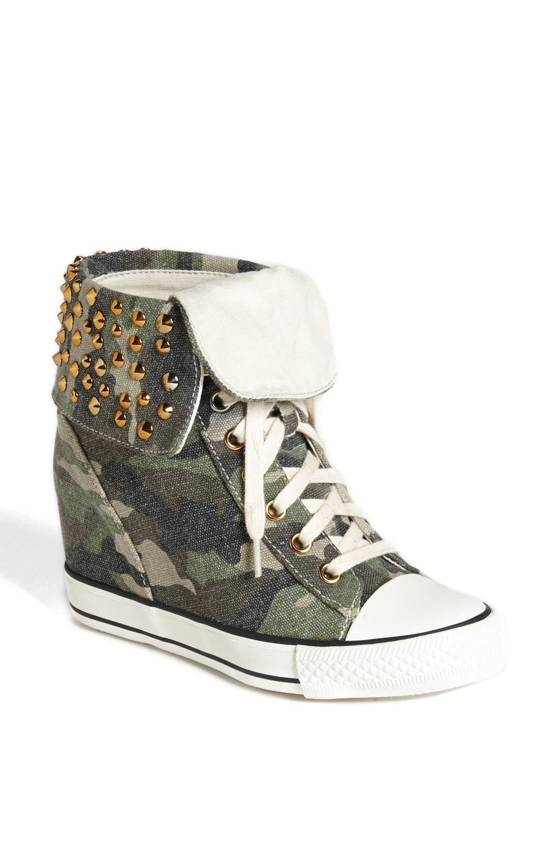 Alternate Image 1 Selected - GOLDLUXE by Zigi 'Cavity' Wedge Sneaker